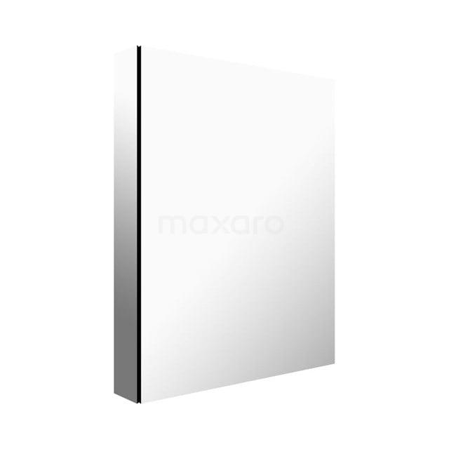Spiegelkast Mio 50x66cm Aluminium 1 Deur K03-0500-45605
