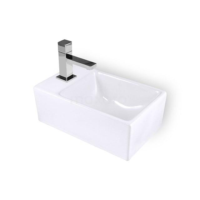 Fonteintje WC Clasico Keramiek Wit Kraangat Links K110-1170