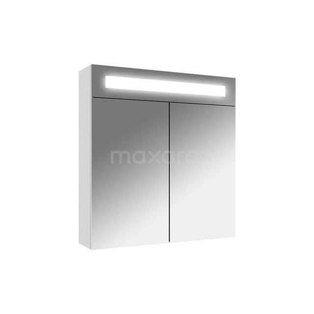 Spiegelkast met Verlichting Filo 60x62,5cm Hoogglans Wit K31-0600-40410