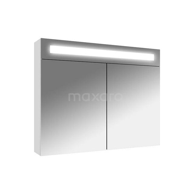 Spiegelkast met Verlichting Filo 80x62,5cm Hoogglans Wit K31-0800-40410
