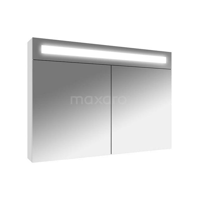 Spiegelkast met Verlichting Filo 90x62,5cm Hoogglans Wit K31-0900-40410
