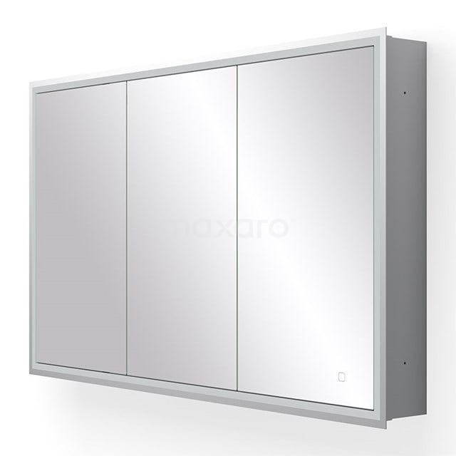 Inbouw Spiegelkast met Verlichting Trento 120x70cm Spiegelverwarming en Stopcontact K40-1200-55504
