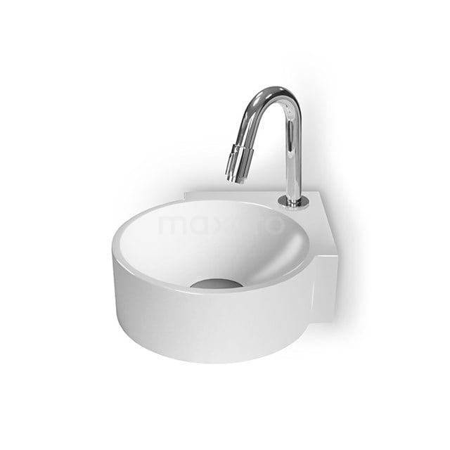 Hoekfontein WC Mintra Mineraalmarmer Glanzend Wit M110-1020