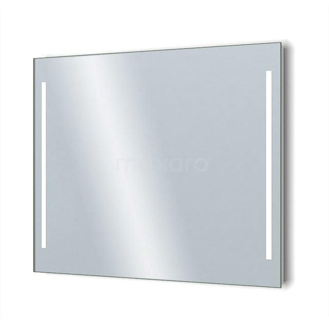 Badkamerspiegel met LED Verlichting Novo 100x75cm Dimmer en Stopcontact M34-1000-55671