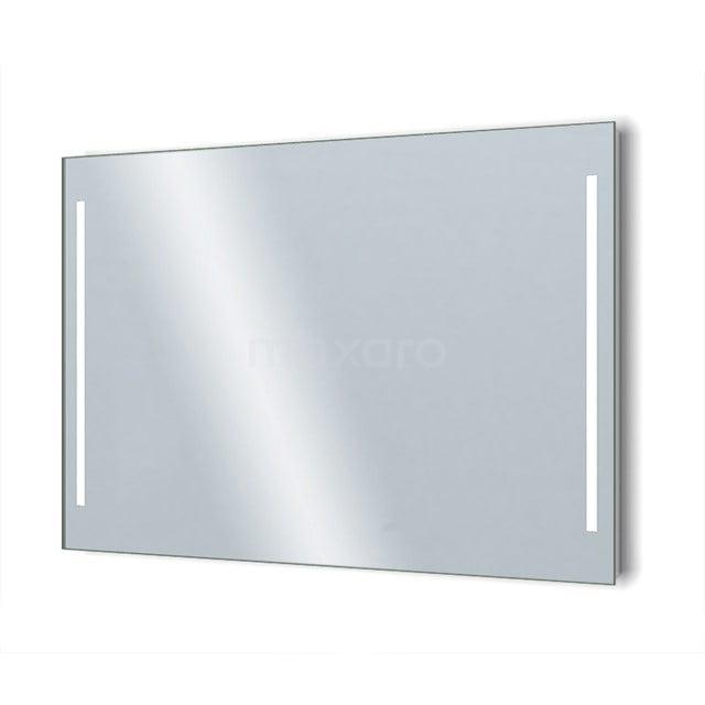 Badkamerspiegel met LED Verlichting Novo 120x75cm Dimmer en Stopcontact M34-1200-55671