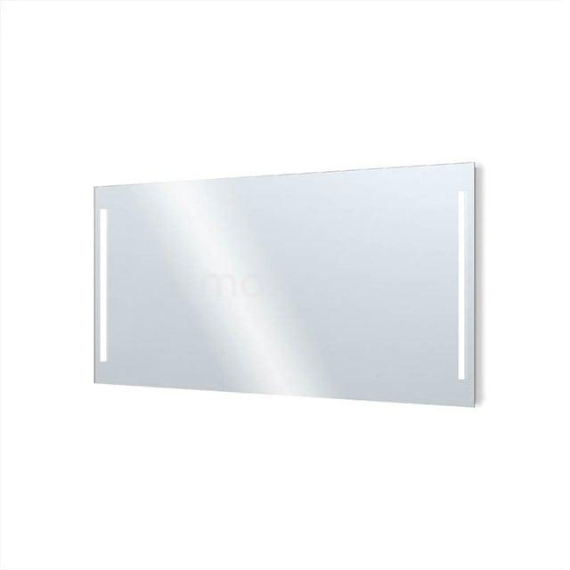 Badkamerspiegel met LED Verlichting Novo 160x75cm Dimmer en Stopcontact M34-1600-55671
