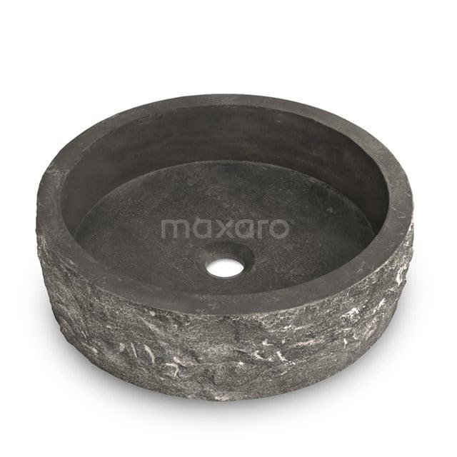 Waskom Novanta Natuursteen Blue Stone 40x12cm Rond N128-0052