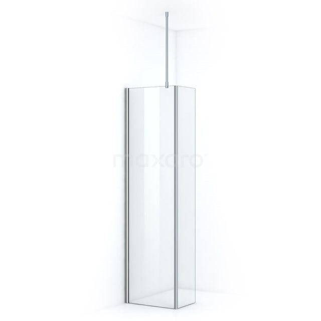 Inloopdouche met Zijwand Pearl 50cm Helder Veiligheidsglas 8mm Chroom IPC052700C