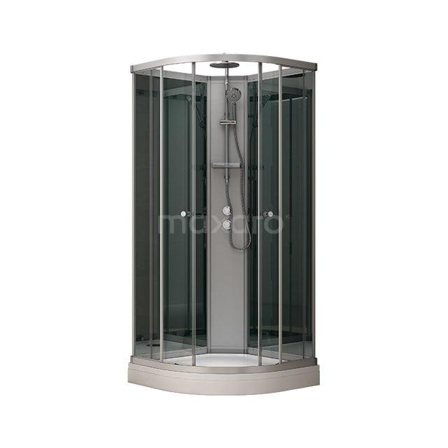 Complete Douchecabine 100x100cm Spiegelglas Modera AK1010-322100