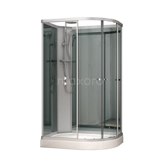 Complete Douchecabine 120x90cm Spiegelglas Modera AK1209-322101