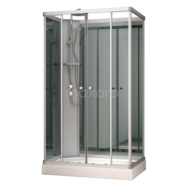 Complete Douchecabine 140x90cm Spiegelglas Modera AK1409-322101
