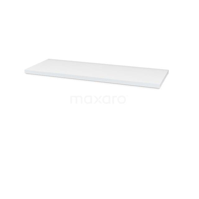 Wastafelblad Modulo Plato 130cm Hoogglans Wit T06-1300-30400