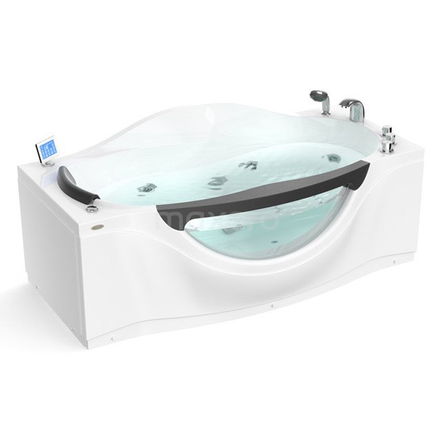 Whirlpool Bad Lagoon Silver 1 Persoons Rechts 181x90cm Watermassage W042-184CR