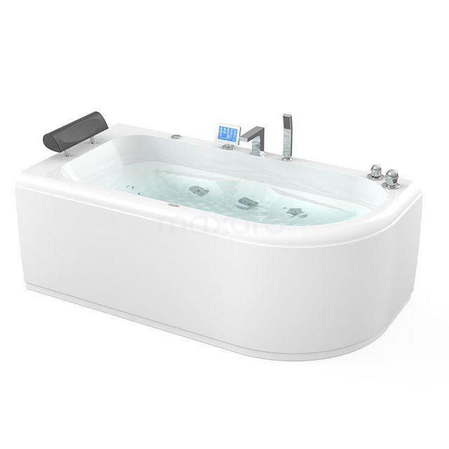 Whirlpool Bad Pacific Silver 1 Persoons Links 170x85cm Watermassage W073-174CL