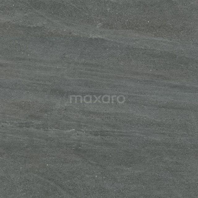 Vloertegel/Wandtegel Alpen Basalt 60x60cm Natuursteenlook Antraciet Gerectificeerd 303-010102
