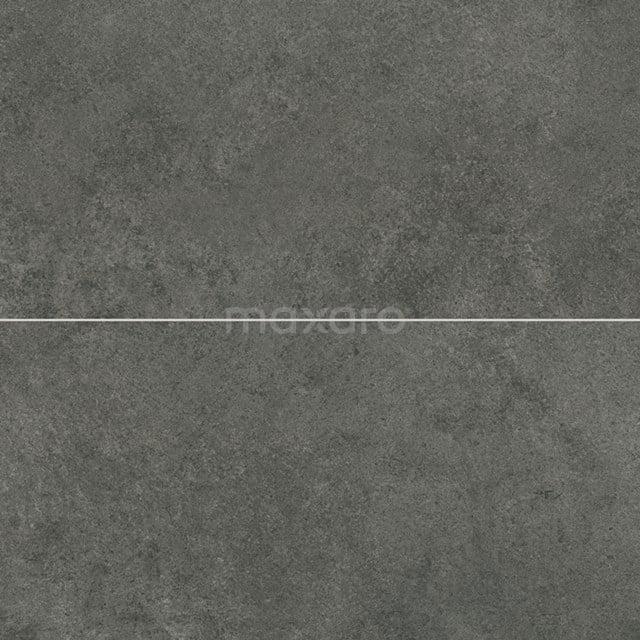 Vloertegel/Wandtegel Pavera Nero 30x60cm Natuursteenlook Antraciet Gerectificeerd 303-060203
