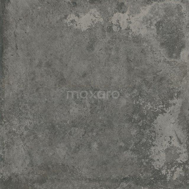 Vloertegel/Wandtegel City Night 60x60cm Betonlook Antraciet Gerectificeerd 304-010103