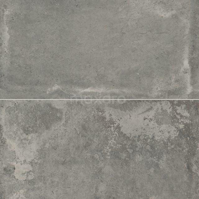 Vloertegel/Wandtegel City Day 30x60cm Betonlook Grijs Gerectificeerd 304-010202
