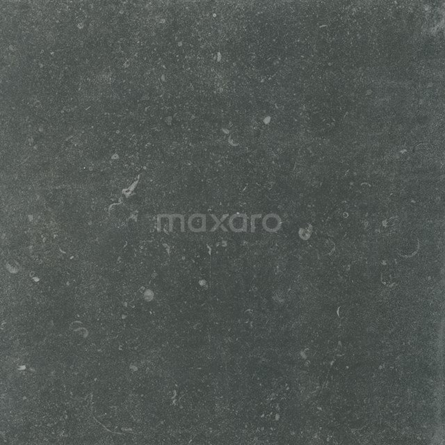 Vloertegel/Wandtegel Freestone Black 59,5 x 59,5cm Natuursteenlook Zwart Gerectificeerd 403-080102