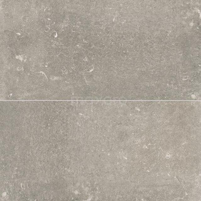 Vloertegel/Wandtegel Freestone Grey 29,5 x 59,5cm Natuursteenlook Grijs Gerectificeerd 403-080201