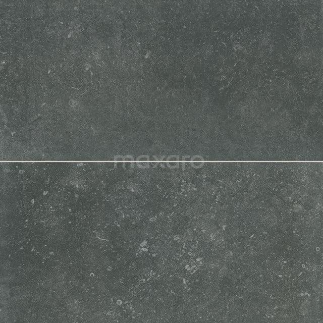 Vloertegel/Wandtegel Freestone Black 29,5 x 59,5cm Natuursteenlook Zwart Gerectificeerd 403-080202