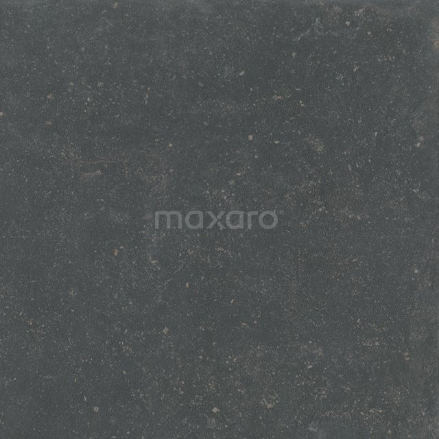 Vloertegel/Wandtegel Antique Dark 60x60cm Natuursteenlook Antraciet Gerectificeerd 503-040101