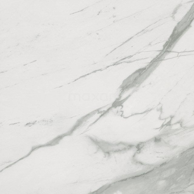 Vloertegel/Wandtegel Lucido Wit Mat 60x60cm Marmerlook Gerectificeerd 503-050102