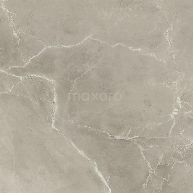 Vloertegel/Wandtegel Lucido Greige Mat 60x60cm Marmerlook Gerectificeerd 503-050103