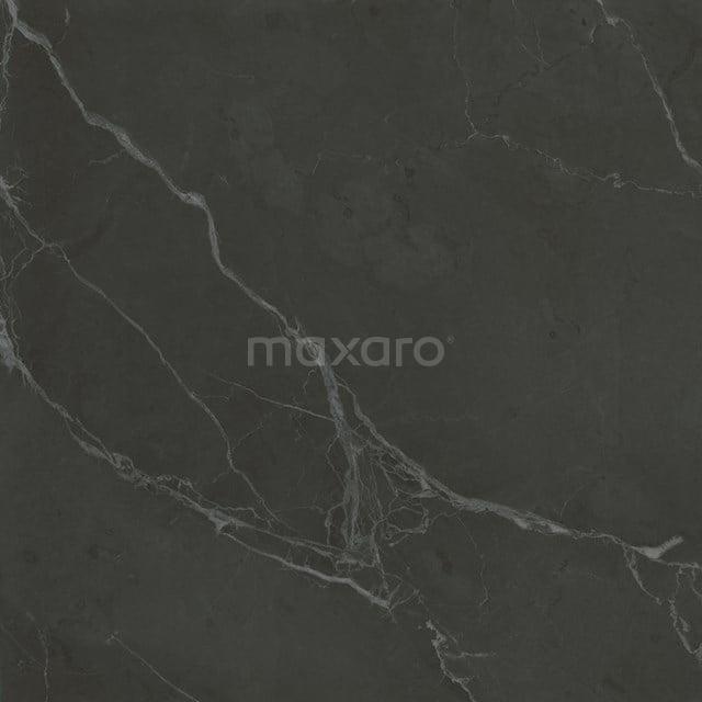 Vloertegel/Wandtegel Lucido Zwart Glans 60x60cm Marmerlook Gerectificeerd 503-050106