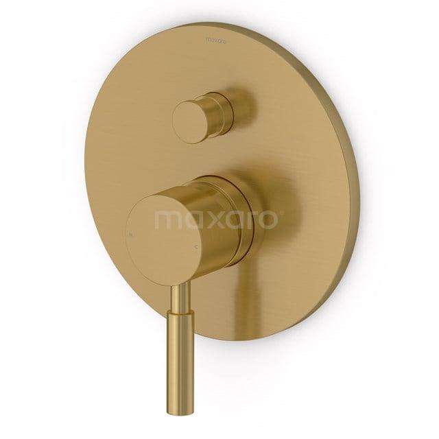 Inbouw Douchekraan Radius Gold, Eéngreeps Mengkraan, Goud 55.151.101GGNS