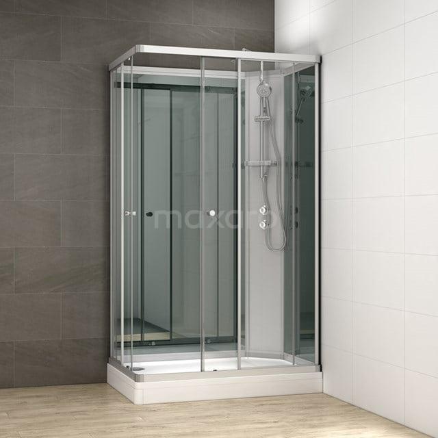 Complete Douchecabine 120x80cm Spiegelglas Modera AK1208-322102