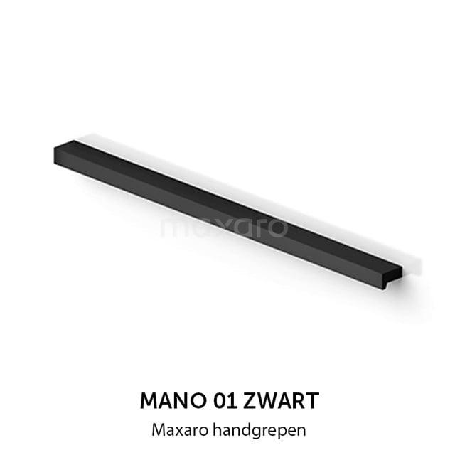 Mano 01 handgreep, zwart, 640 mm H01-0640-22