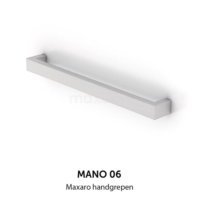 Mano 06 handgreep, RVS, 800 mm H06-0800-10