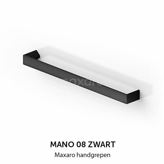Mano 08 handgreep, zwart, 640 mm H08-0640-12