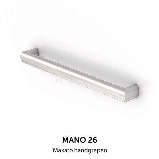 Mano 26 handgreep, RVS, 800 mm H26-0800-10