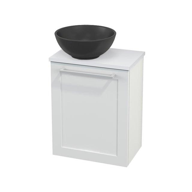 Toiletmeubel met Waskom Quartz Modulo+ Pico Hoogglans Wit 41cm BMC001719