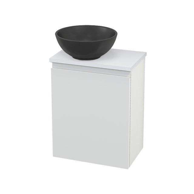 Toiletmeubel met Waskom Quartz Modulo+ Pico Hoogglans Wit 41cm BMC001720