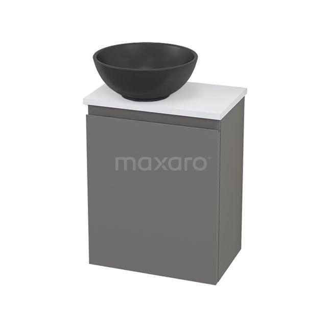 Toiletmeubel met Waskom Quartz Modulo+ Pico Basalt 41cm BMC001725
