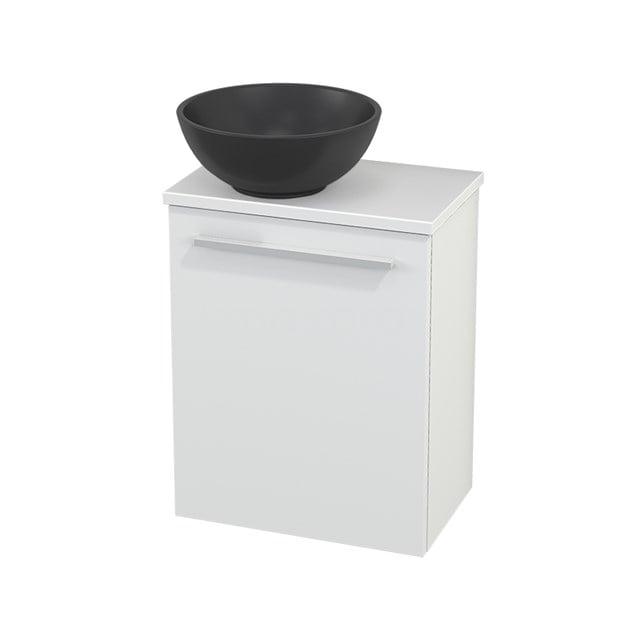 Toiletmeubel met Waskom Quartz Modulo+ Pico Mat Wit 41cm BMC001749