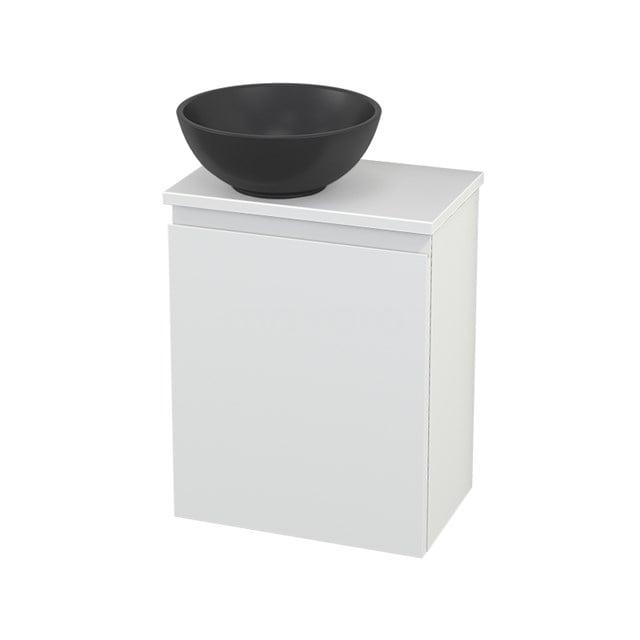 Toiletmeubel met Waskom Quartz Modulo+ Pico Mat Wit 41cm BMC001751