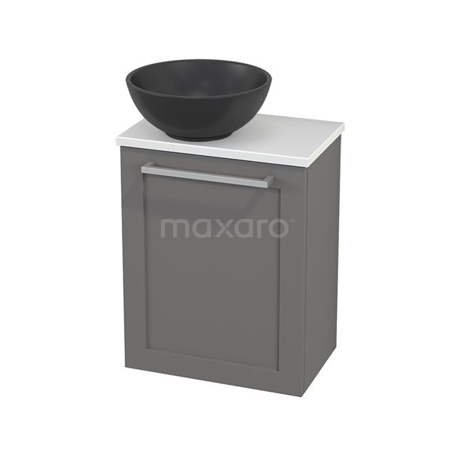 Toiletmeubel met Waskom Quartz Modulo+ Pico Basalt 41cm BMC001755