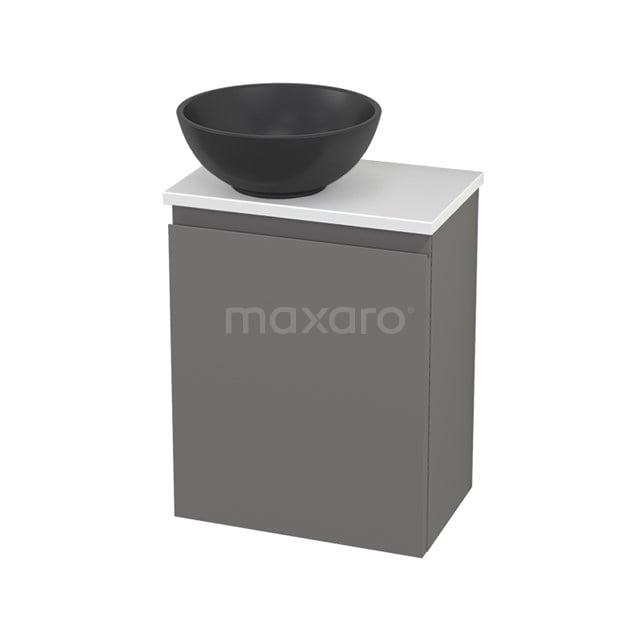Toiletmeubel met Waskom Quartz Modulo+ Pico Basalt 41cm BMC001756