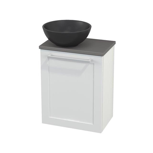 Toiletmeubel met Waskom Quartz Modulo+ Pico Hoogglans Wit 41cm BMC001781