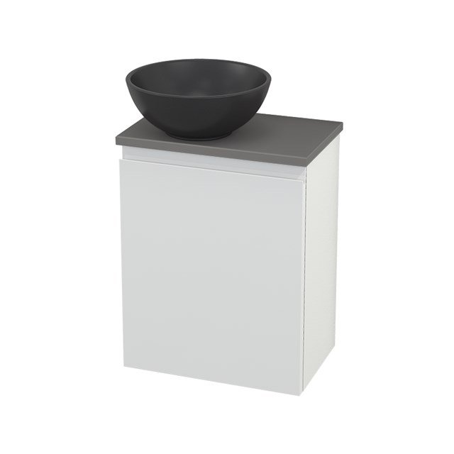 Toiletmeubel met Waskom Quartz Modulo+ Pico Hoogglans Wit 41cm BMC001783
