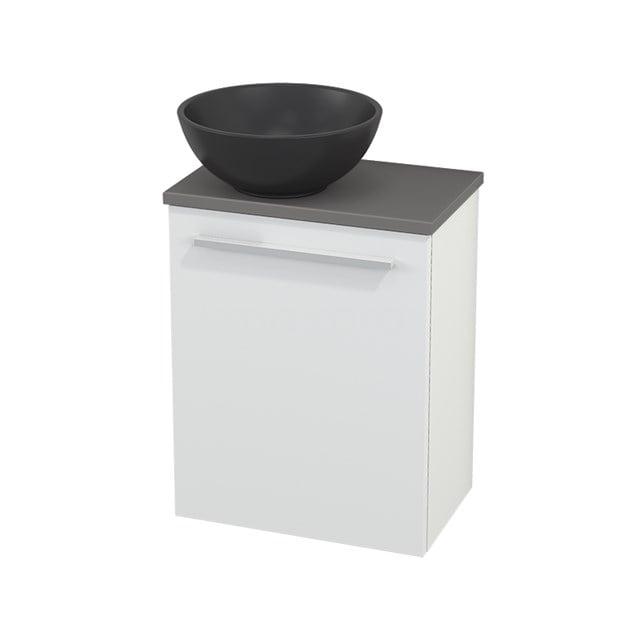 Toiletmeubel met Waskom Quartz Modulo+ Pico Mat Wit 41cm BMC001784