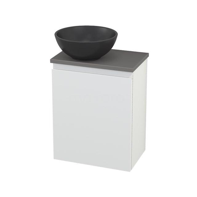 Toiletmeubel met Waskom Quartz Modulo+ Pico Mat Wit 41cm BMC001786