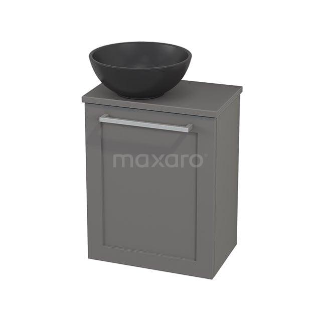 Toiletmeubel met Waskom Quartz Modulo+ Pico Basalt 41cm BMC001790