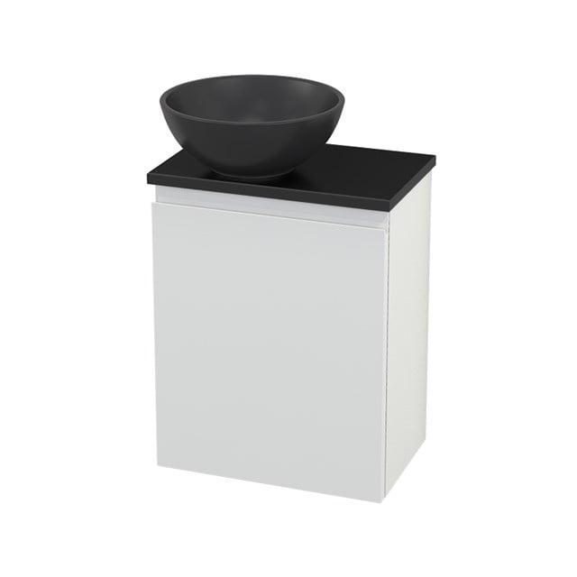 Toiletmeubel met Waskom Quartz Modulo+ Pico Hoogglans Wit 41cm BMC001811