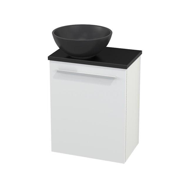 Toiletmeubel met Waskom Quartz Modulo+ Pico Mat Wit 41cm BMC001812
