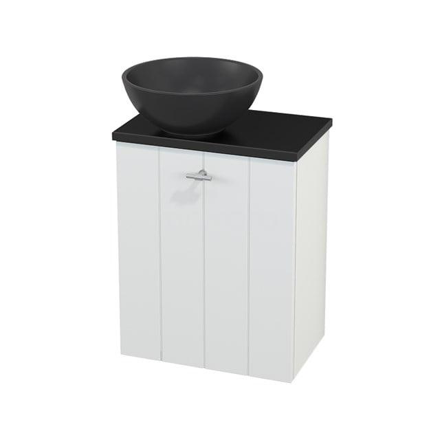 Toiletmeubel met Waskom Quartz Modulo+ Pico Mat Wit 41cm BMC001813